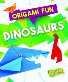 "Read ""Origami Fun: Dinosaurs"" by Robyn Hardyman available from Rakuten Kobo. In nature, extinction is an irreversible process. Animal species that die off cannot be brought back to life. How To Make Origami, How To Make Paper, Crafts To Make, Fun Crafts, Paper Crafts, Origami Guide, Bird Facts, Origami Artist, Space Activities"