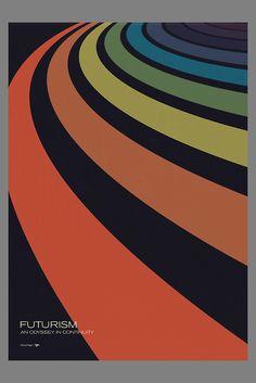 Futurism Series: Print #10, Simon C Page
