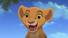 *KIARA ~ The Lion King 2. I love that when she was little that she was a spunky trouble-maker, then when she grew up, was a stubborn, awkward teenage girl like a human