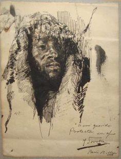 Cabeza de moro. 1889