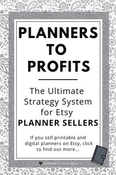 Planners to Profits ~ The Ultimate Strategy System for Etsy planner sellers. Click to find out more Goals Planner, Planner Pages, Life Planner, Weekly Planner, Free Printable Stickers, Printable Labels, Printable Planner, Printables, Mental Health Blogs