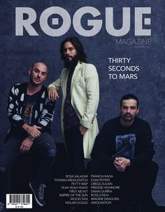 30 SECONDS TO MARS   ( for ROGUE Magazine )