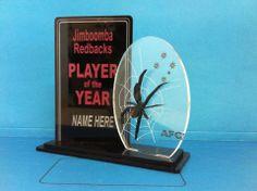 Laser Cut trophy sample