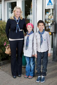 Princess Mette-Marit - Crown Princess Of Norway Attends International Scouts Gathering