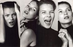 Kate Moss photographed by Bruce Weber for Vogue Italia October 1996
