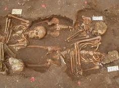 archeologia romana - resti umani periodo neroniano