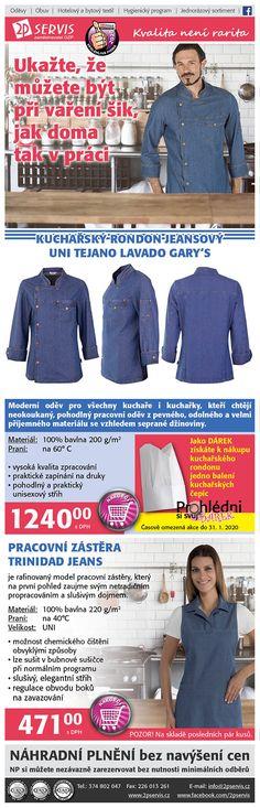 ★ ★🍀 Jeansový rondon + dárek Zdarma a jeansová zástěra 🍀★ ★ Lava, Unisex, Shopping, Texans