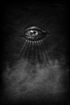 slobbering:  Post-Industrial Eye by Yaroslav Gerzhedovich