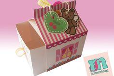 Hello Kitty candy favor / Dulcero inspiración Hello Kitty