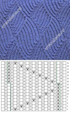 Knitting Patterns Techniques How to knit such a pattern. Lace Knitting Stitches, Cable Knitting, Knitting Charts, Knitting Designs, Knitting Patterns Free, Knit Patterns, Stitch Patterns, Knitting Needles, Lace Knitting