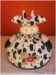 Eu Amo Artesanato: Cobre bolo de galinha