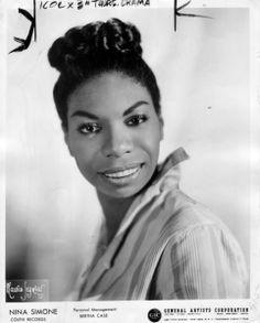 Nina Simone headshot   Colpix Records * GAC