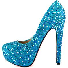 Taylor Says Women's Freddie - Turquoise ($270) ❤ liked on Polyvore featuring shoes, pumps, heels, leather sole shoes, turquoise platform pumps, sparkly high heel shoes, high heel pumps and heels & pumps