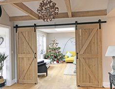 Heritage Framed Ledged solid oak doors, with braces fitted in opposing angles for use as a sliding door pair Internal Sliding Doors, Sliding Wood Doors, Sliding Door Design, Interior Sliding Barn Doors, Sliding Door Room Dividers, Room Divider Doors, House Extension Plans, Solid Oak Doors, Black Interior Doors
