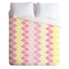 Hello Twiggs Sunny Diamonds Duvet Cover | DENY Designs Home Accessories