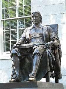 John Harvard Statue, Boston, Massachusetts
