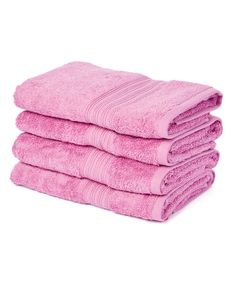 Look what I found on #zulily! Mulberry 35'' Hand Towel - Set of Four #zulilyfinds