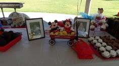 """Photo 1 of 34: Mickey and Minnie / Birthday """"Eli and Emi's First Birthday - Breakfast in the Park"""" 