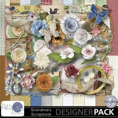 Grandma's Scrapbook Kit by PattyB Scraps! http://www.mymemories.com/store/display_product_page?id=PBPS-CP-1409-71286