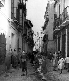 Calle Calvo, 1950.