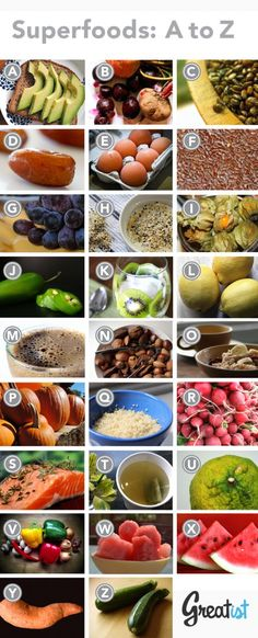 The Best Superfoods, from A to Z | Greatist