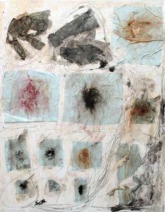"scottbergeyart:        # 1367 ""Stars"" on Flickr.        14 x 11 , mixed media collage on cardboard. July 2011"