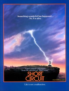 Short Circuit.....the only movie I've ever watched with just my grandparents and myself