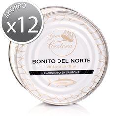 Comprar Pack ahorro 12 uds Bonito del Norte G.Costera 200 g. Online
