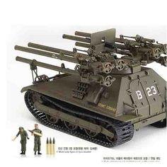 "Armored Car Tank Military Model 1/35 M50A1 ""U.S Marine Corps Ontos"" #T13218"