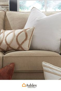 The right throw pillows are like the cherry on top for your couches and bed. Find the right ones at AshleyFurnitureHomestore.com and personalize your style!