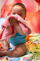 """Greatest Blankets in the WORLD!  Ambajams!  They make great """"blankies"""" and are extremely soft and cuddly!  Perfect baby gift!"""