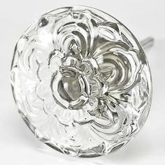 4-Glass-Cabinet-Knobs-Daisy-Kitchen-Drawer-Pulls-Funiture-Handle-Hardware-T38CH