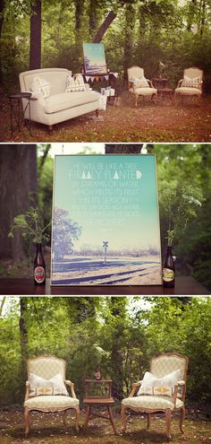 I love the idea of an outdoor baby shower. :) Fall will be perfect!