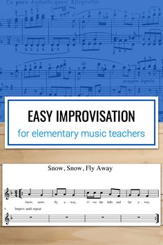 Super easy idea for doing improvisation with your elementary music classes. Music Classroom, Classroom Ideas, Music Teachers, Music Education Activities, Physical Education, Health Education, Middle School Music, Elementary Music, Elementary Schools