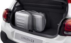 The luggage compartment in the new Citroen measures decent 300 litres. Citroen C3, Car Photos, Picasso, Super Cars, Car Seats, Interior, Design, Creative Inspiration, Pictures