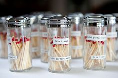 """Give your """"perfect match"""" favors a new spin with fancy jars"""