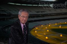 Alf Lazer AM after his interview at the MCG. Photo by Stefano Ferro. 1956 Olympics, Life Unexpected, Female Directors, Melbourne Victoria, Victoria Australia, World Famous, International Film Festival, Short Film, Documentaries