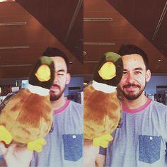 Cute...Mike Shinoda