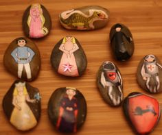 There are those ideas that you come across that capture your whole heart. One day I was surfing the web for more ideas for storytelling and came upon Red Bird Crafts and Emily Neuburger. Emily designed the coolest idea – story stones. You must click over to her blog and take a peek at her …