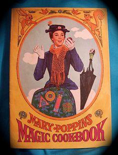 Mary Poppins Magic Cookbook, 1963
