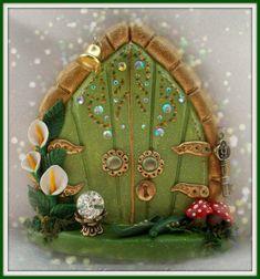 FD461   Fairy Door by CharmedFairyDoors on Etsy