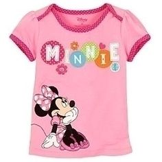 Pink Minnie Mouse Tee For Toddler Girls  Save 32% $9.99 Was: $14.50 Pink Minnie Mouse Tee for Girls
