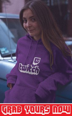 👉 Designed for TwitchAddict's 💜 ▪ Soft Cotton ▪ Printed in the USA ▪ Tracking Numbers Included Twitch Hoodie, Sporty Look, Hoodies, Sweatshirts, Types Of Sleeves, Overlay, Numbers, Usa, Purple