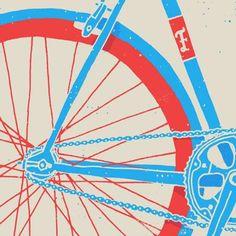 """Se andar de bicicleta já é um estilo de vida cada vez mais comum, a """"magrela"""" também merece estar na arte! Aqui reunimos os mais variados traços e estilos que celebram nossa companheira! #a vida e arte #bem visuais #bicicleta #bicicletarte #ciclismo #desenho #ilustracao #mural"""