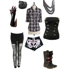 Used Polyvore for the first time -- more difficult than I'd expected but I like the results.