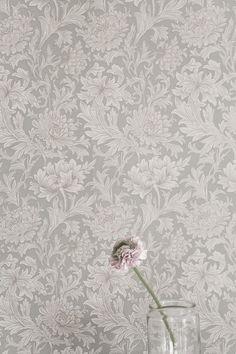 Gray wallpaper.