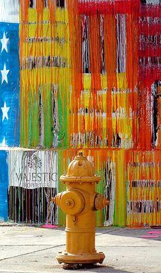 Art Basel Miami Streetart Fire Hydrant by MY PINK SOAPBOX, via Flickr