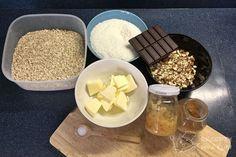 Domácí müsli - všechny suroviny jsou připravené k akci