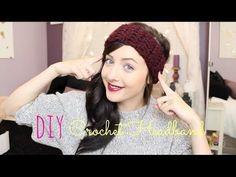 ♡ DIY: Crochet Headband! - YouTube