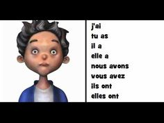 ▶ COMPTINE GRAMMATICALE = Le verbe avoir - YouTube